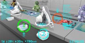 遠隔操作 未来工場 ロボットアーム
