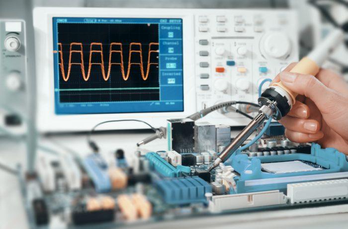 アナログ電子回路設計イメージ