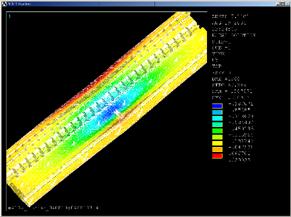 FMEによる静応力解析イメージ写真