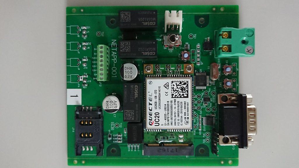 特殊センサー用3g通信基板